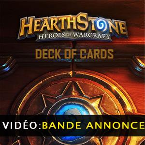 Hearthstone Heroes of Warcraft Deck of Cards Vidéo de la bande annonce
