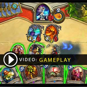 Hearthstone Heroes of Warcraft Deck of Cards Gameplay Vidéo