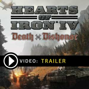 Acheter Hearts of Iron 4 Death or Dishonor Clé Cd Comparateur Prix