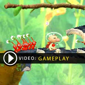 Hey Pikmin Nintendo 3DS Gameplay Video