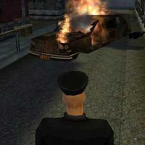 Brûler la voiture