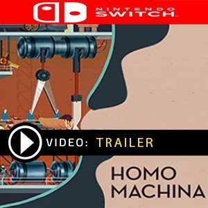 Homo Machina Nintendo Switch en boîte ou à télécharger
