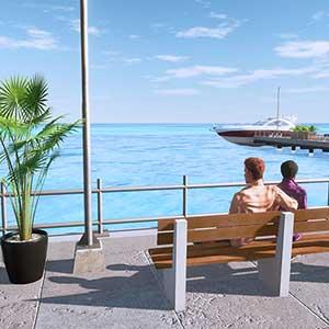 Hotel Life A Resort Simulator Promenade Dans La Baie