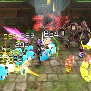 Hyperdimension Neptunia U Action Unleashed Lutte