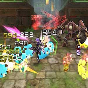 Hyperdimension Neptunia U Action Unleashed Lutte
