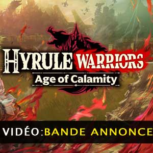 Hyrule Warriors Age of Calamity Bande-annonce vidéo