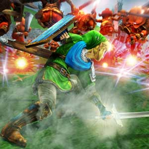 Hyrule Warriors Nintendo Wii U Lutte