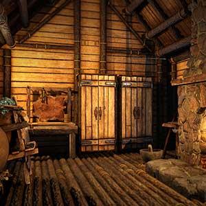 Icarus L'intérieur de la cabane