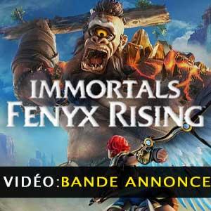 Vidéo de la bande annonce IMMORTALS FENYX RISING