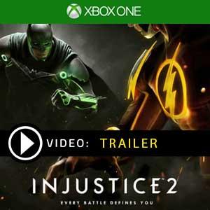 Injustice 2 Xbox One Code en boîte ou à télécharger