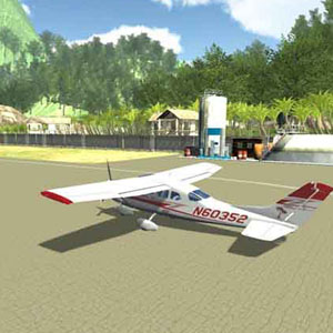 Island Flight Simulator N60352