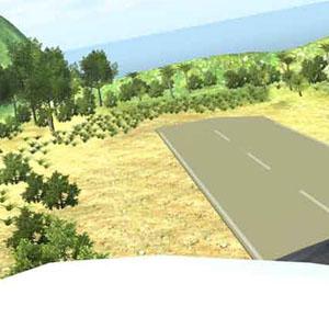 Island Flight Simulator Gameplay