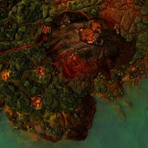 île dirigée par un suzerain de drogue