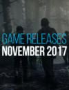 Sorties de jeux de novembre 2017