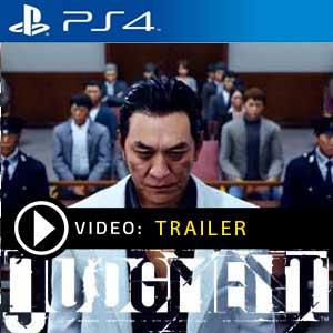 Judgment PS4 en boîte ou à télécharger