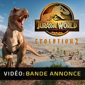 Jurassic World Evolution 2 Bande-annonce Vidéo