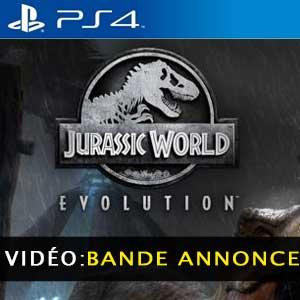 Jurassic World Evolution PS4 Vidéo de la Bande-annonce