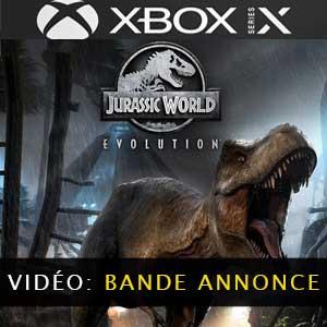 Jurassic World Evolution Xbox Series X Vidéo de la Bande-annonce