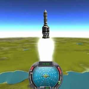 Kerbal Space Lancement de fusée