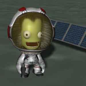 Kerbal dans l'espace