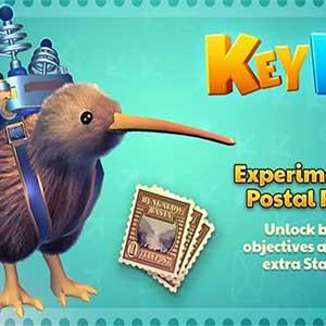 KeyWe Early Bird Pack Sac à Dos Postal Expérimental