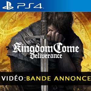 Kingdom Come Deliverance PS4 Bande-annonce Vidéo