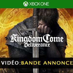 Kingdom Come Deliverance Xbox One Bande-annonce Vidéo
