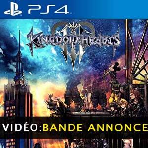 Kingdom Hearts 3 bande-annonce vidéo