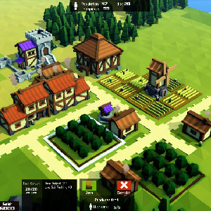 Kingdoms and Castles Gameplay Environment