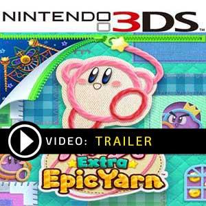 Kirby's Extra Epic Yarn Nintendo 3DS en boîte ou à télécharger
