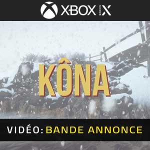 Kona Xbox Series X Bande-annonce Vidéo