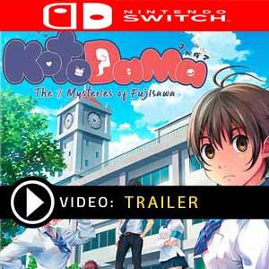 Kotodama The 7 Mysteries of Fujisawa Nintendo Switch en boîte ou à télécharger