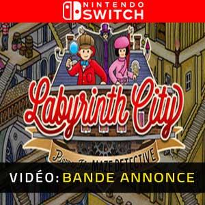 Labyrinth City Pierre the Maze Detective Nintendo Switch Bande-annonce vidéo