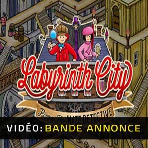Labyrinth City Pierre the Maze Detective Bande-annonce vidéo