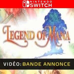 Legend of Mana Nintendo Switch Bande-annonce Vidéo