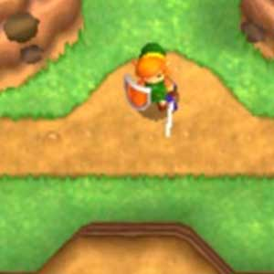 Legend of Zelda A Link between Worlds 3DS Personnage
