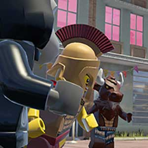 Lego City Undercover Gameplay
