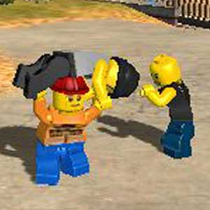 LEGO City Undercover The Chase Begins Nintendo 3DS Combat