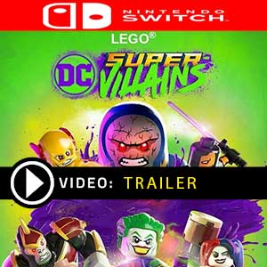 Acheter LEGO DC Super-Villains Nintendo Switch comparateur prix