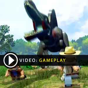 LEGO JURASSIC WORLD PS4 Gameplay Video