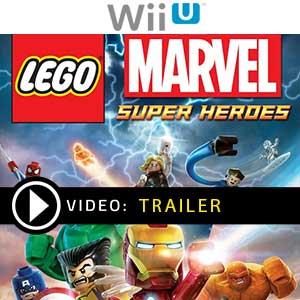 Lego Marvel Super Heroes Nintendo Wii U en boîte ou à télécharger