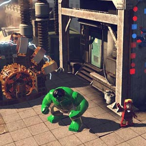 LEGO Marvel Superheroes Gameplay