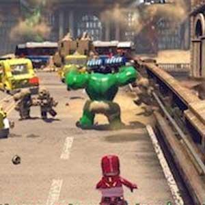 Lego Marvels Avengers Scénario