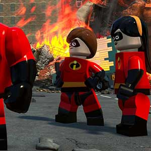 Famille Parr LEGO The Incredibles
