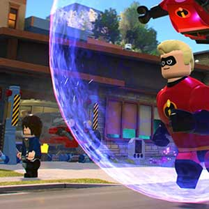 LEGO The Incredibles : un monde de hub épique