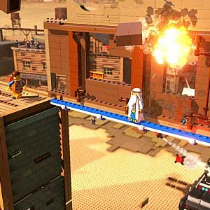 LEGO The Movie Videogame - Explosion