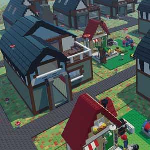 LEGO Worlds Village personnalisés