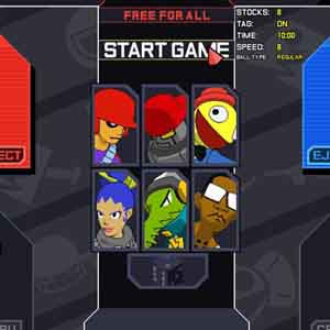 Lethal League Personnages
