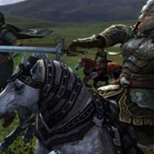 LOTRO Les Cavaliers du Rohan Combat