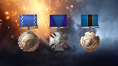 médaille de Battlefield 1